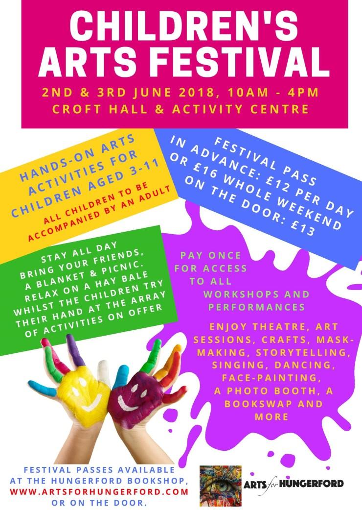 Childrens Arts Festival Programme